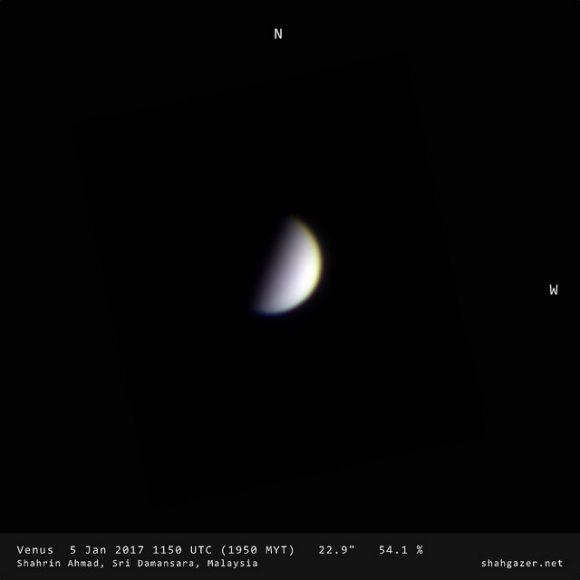 Gibbous Venus