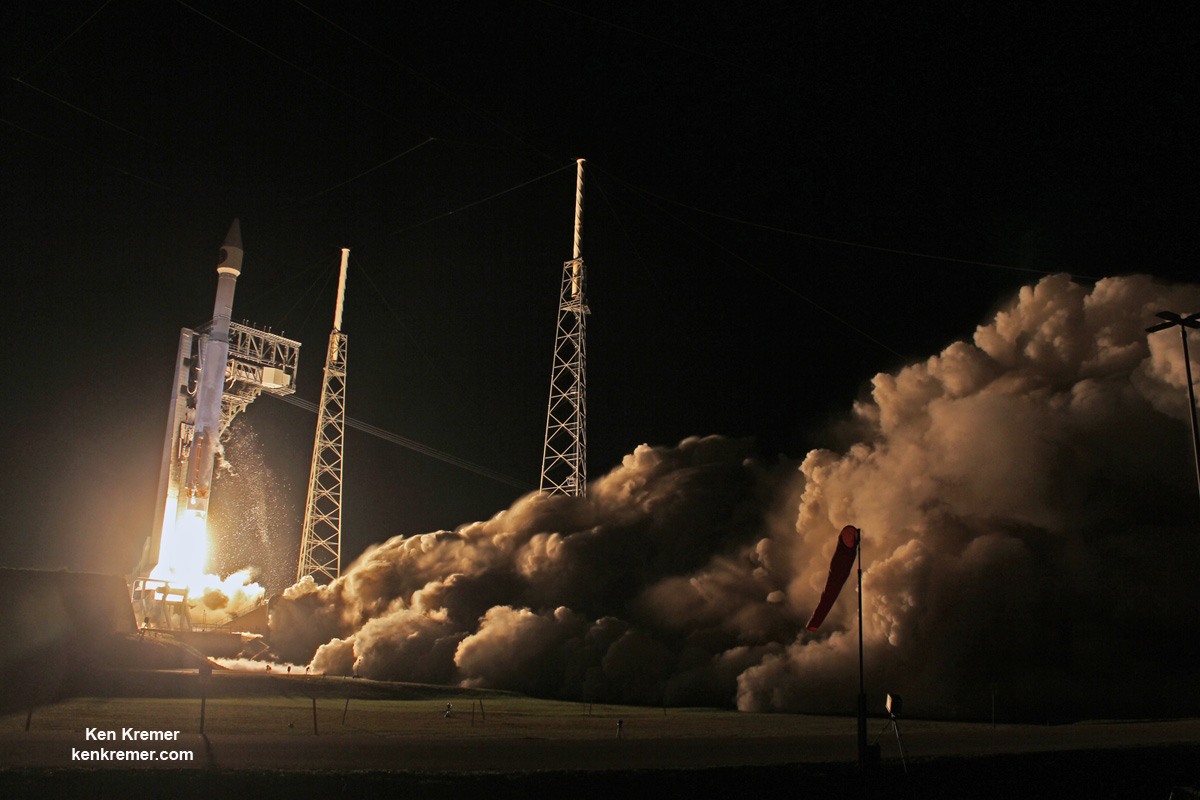 Vital Air Force Missile Reconnaissance Satellite SBIRS GEO 3 Launched – Photo/Video Gallery