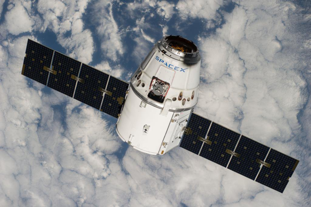 SpaceX Dragon Arrives at Space Station with Tons of Earth and Human Science Experiments
