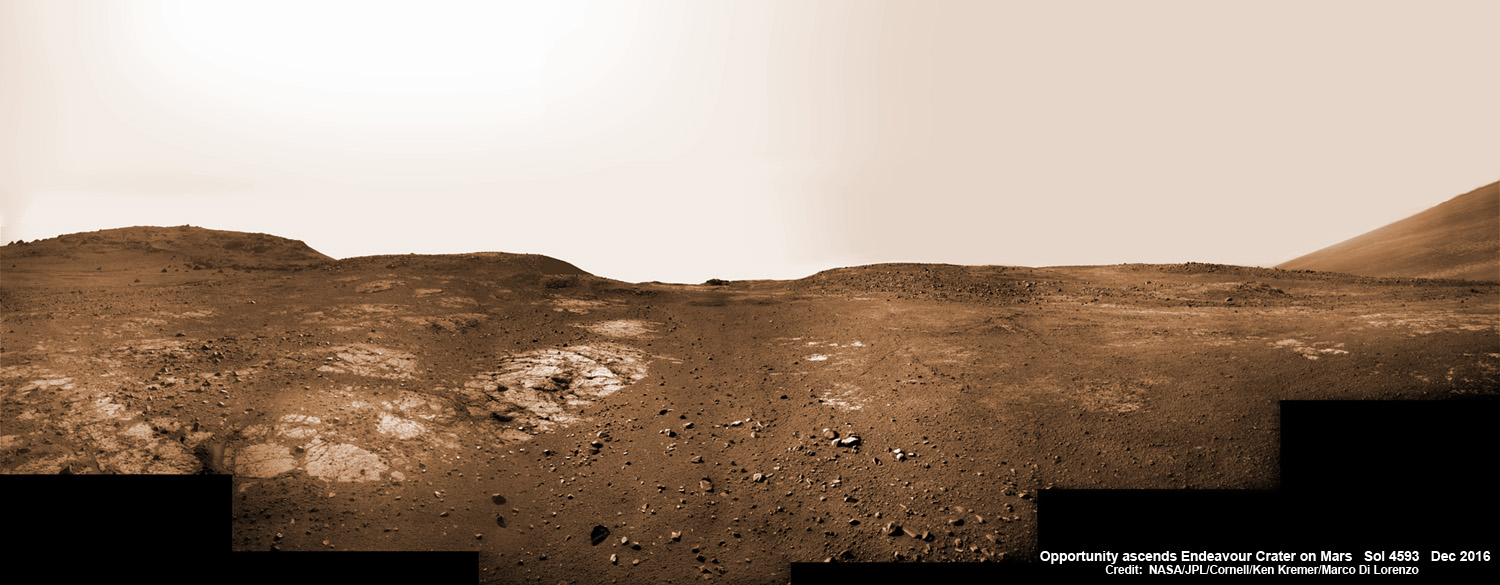 Outstanding Opportunity Rover Making 'Amazing New Discoveries' 13 Years After Mars Touchdown
