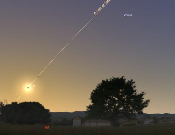 Sun Venus Annular