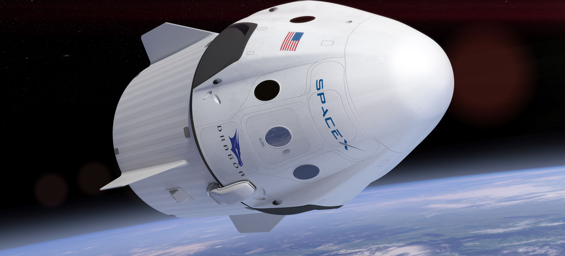 Elon Musk Announces Daring SpaceX Dragon Flight Beyond Moon with 2 Private Astronauts in 2018