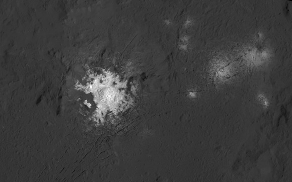 Brightest 'Spot' on Ceres is Likely a Cryovolcano
