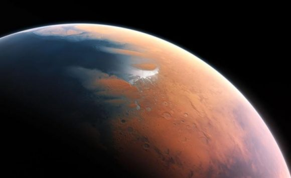 Mineral Points To A Water Rich Mars