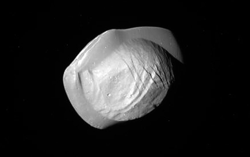 Fried Egg? Flying Saucer? Nope. Just Cool New Closeups of Saturn's Moon Pan