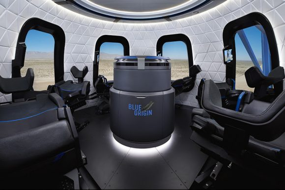 Take a Peek Inside Blue Origin's New Shepard Crew Capsule