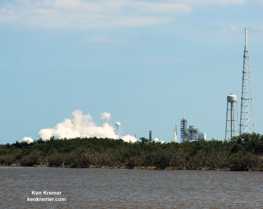 SpaceX to Launch 1st NRO SpySat Sunday after Static Fire Success