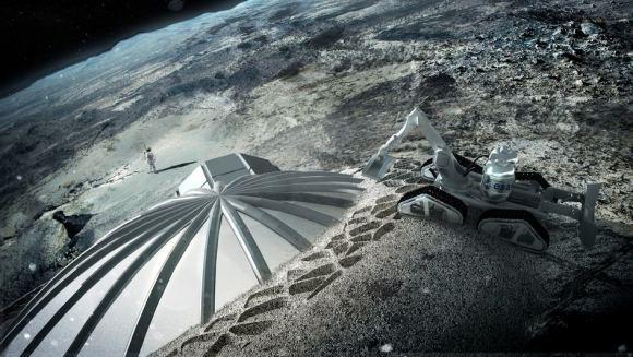 Europe & China Discuss Moonbase Partnership