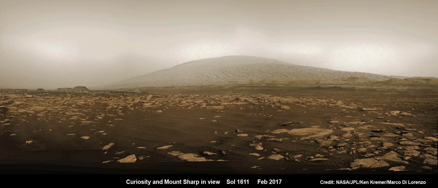 See NASA's Curiosity Rover Simultaneously from Orbit and ...