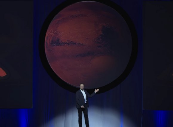 Elon Musk Details His Vision for a Human Civilization on Mars