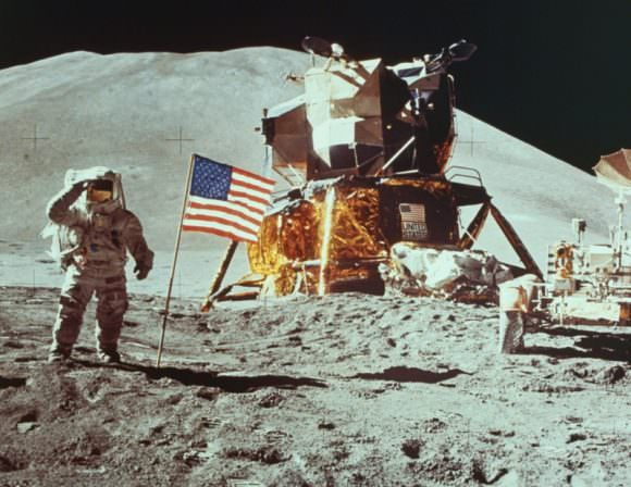 The US won the space race against its adversary, the USSR. The image of the American flag planted on the Moon, being saluted by an American astronaut, must have caused great consternation in the Kremlin. Will SpaceX's mission to Mars cause the same consternation? Will Russia and other nations use the mission to remind the US of their Outer Space Treaty obligations? Image: NASA