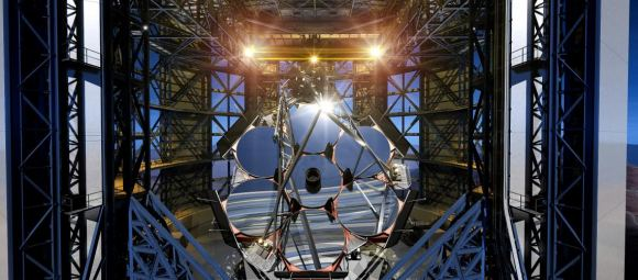 Precision manufacturing is at the heart of the Giant Magellan Telescope. The surface of each mirror must be polished to within a fraction of the wavelength of light. Image: Giant Magellan Telescope Organization