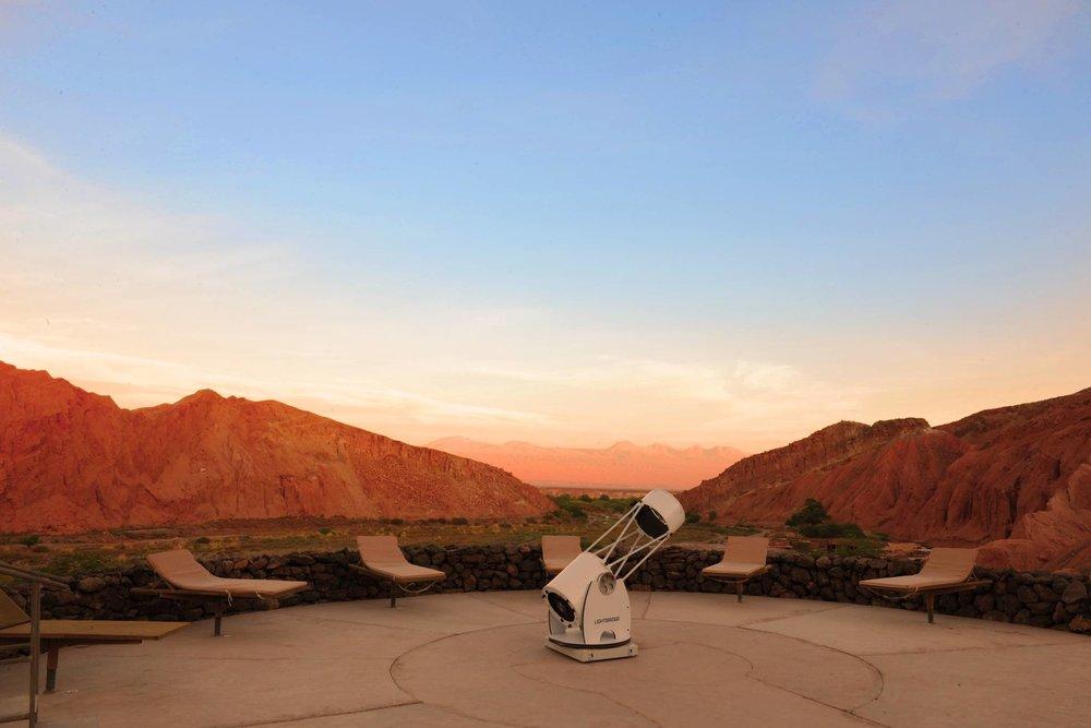 Alto Atacama open-air observatory