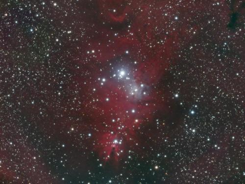 NGC2264 HaRGB 2+2-15 190101